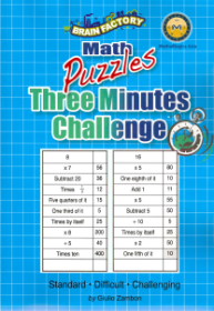 Three Minutes Challeng Puzzles
